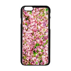 Almond Tree In Bloom Apple Iphone 6/6s Black Enamel Case by FunnyCow