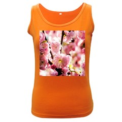 Blooming Almond At Sunset Women s Dark Tank Top by FunnyCow