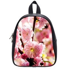 Blooming Almond At Sunset School Bag (small) by FunnyCow
