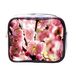 Blooming Almond At Sunset Mini Toiletries Bags by FunnyCow