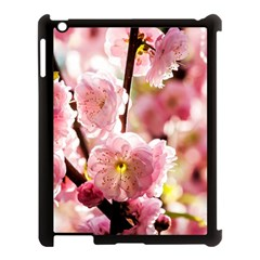 Blooming Almond At Sunset Apple Ipad 3/4 Case (black) by FunnyCow