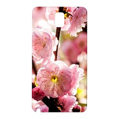 Blooming Almond At Sunset Samsung Galaxy Note 3 N9005 Hardshell Back Case by FunnyCow