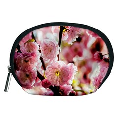 Blooming Almond At Sunset Accessory Pouches (medium)  by FunnyCow
