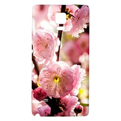 Blooming Almond At Sunset Samsung Note 4 Hardshell Back Case by FunnyCow