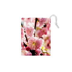 Blooming Almond At Sunset Drawstring Pouches (xs)
