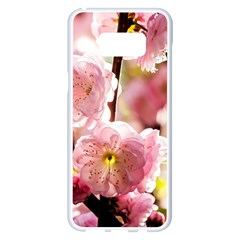 Blooming Almond At Sunset Samsung Galaxy S8 Plus White Seamless Case by FunnyCow