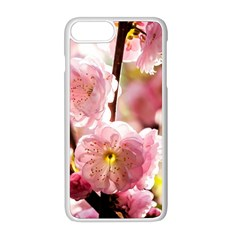 Blooming Almond At Sunset Apple Iphone 8 Plus Seamless Case (white) by FunnyCow