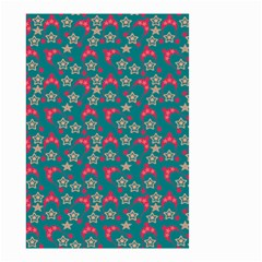 Teal Hats Small Garden Flag (two Sides) by snowwhitegirl