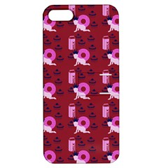 Punk Baby Red Apple Iphone 5 Hardshell Case With Stand by snowwhitegirl