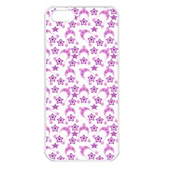 Violet Winter Hats Apple Iphone 5 Seamless Case (white) by snowwhitegirl