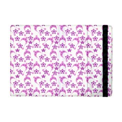 Violet Winter Hats Apple Ipad Mini Flip Case by snowwhitegirl