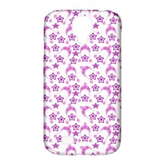 Violet Winter Hats Samsung Galaxy S4 Classic Hardshell Case (pc+silicone) by snowwhitegirl