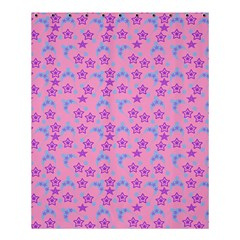 Pink Star Blue Hats Shower Curtain 60  X 72  (medium)  by snowwhitegirl