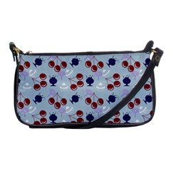 Sky Cherry Shoulder Clutch Bags by snowwhitegirl