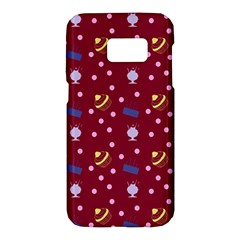 Cakes And Sundaes Red Samsung Galaxy S7 Hardshell Case  by snowwhitegirl