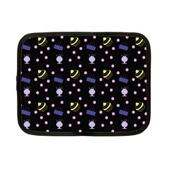 Cakes And Sundaes Black Netbook Case (small)  by snowwhitegirl