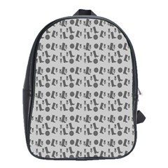 Boots Grey School Bag (large)