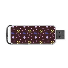 Cakes And Sundaes Chocolate Portable Usb Flash (two Sides) by snowwhitegirl