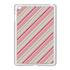 Candy Diagonal Lines Apple Ipad Mini Case (white) by snowwhitegirl