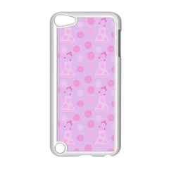 Lilac Dress Apple Ipod Touch 5 Case (white) by snowwhitegirl