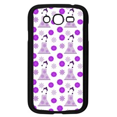 Lilac Dress On White Samsung Galaxy Grand Duos I9082 Case (black)