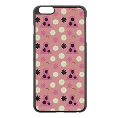 Mauve Dress Apple Iphone 6 Plus/6s Plus Black Enamel Case