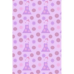 Violet Pink Flower Dress 5 5  X 8 5  Notebooks by snowwhitegirl