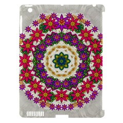 Fauna Fantasy Bohemian Midsummer Flower Style Apple Ipad 3/4 Hardshell Case (compatible With Smart Cover) by pepitasart