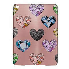 Gem Hearts And Rose Gold Ipad Air 2 Hardshell Cases by 8fugoso