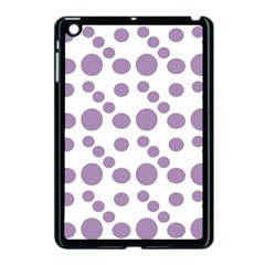 Violet Dots Apple Ipad Mini Case (black) by snowwhitegirl