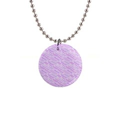 Silly Stripes Lilac Button Necklaces by snowwhitegirl