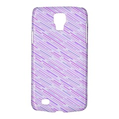 Silly Stripes Lilac Samsung Galaxy S4 Active (i9295) Hardshell Case by snowwhitegirl