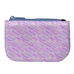 Silly Stripes Lilac Large Coin Purse by snowwhitegirl