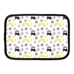 Music Stars Netbook Case (medium)  by snowwhitegirl