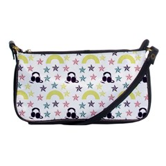 Music Stars Shoulder Clutch Bags by snowwhitegirl