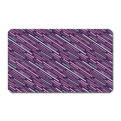 Silly Stripes Magnet (rectangular) by snowwhitegirl