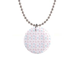 Pink Hats Button Necklaces