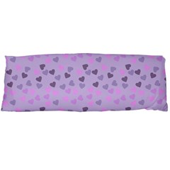Heart Drops Violet Body Pillow Case (dakimakura) by snowwhitegirl