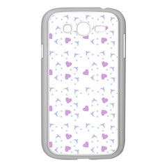 Blue Hats Samsung Galaxy Grand Duos I9082 Case (white)