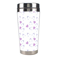 Blue Hats Stainless Steel Travel Tumblers by snowwhitegirl
