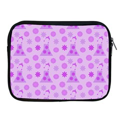 Purple Dress Apple Ipad 2/3/4 Zipper Cases by snowwhitegirl