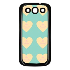 Teal Cupcakes Samsung Galaxy S3 Back Case (black)