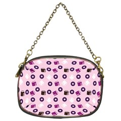 Pink Donuts Chain Purses (two Sides)  by snowwhitegirl