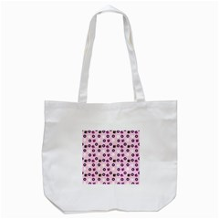 Pink Donuts Tote Bag (white)