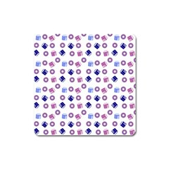 Milk And Donuts Square Magnet by snowwhitegirl