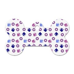 Milk And Donuts Dog Tag Bone (two Sides) by snowwhitegirl