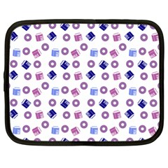 Milk And Donuts Netbook Case (xl)  by snowwhitegirl