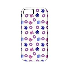 Milk And Donuts Apple Iphone 5 Classic Hardshell Case (pc+silicone) by snowwhitegirl