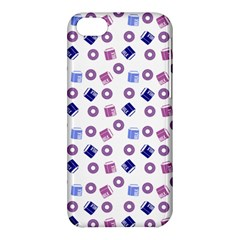 Milk And Donuts Apple Iphone 5c Hardshell Case by snowwhitegirl