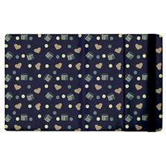 Blue Milk Hearts Ipad Mini 4 by snowwhitegirl